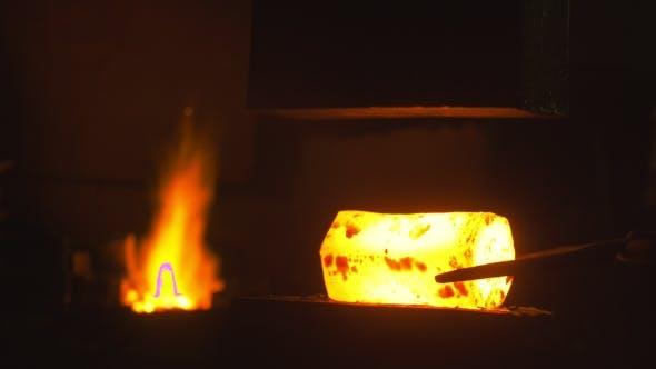 Thumbnail for Blacksmith Creates a Hammer