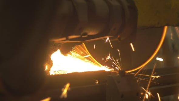 Thumbnail for Cutting Solid Iron Saw