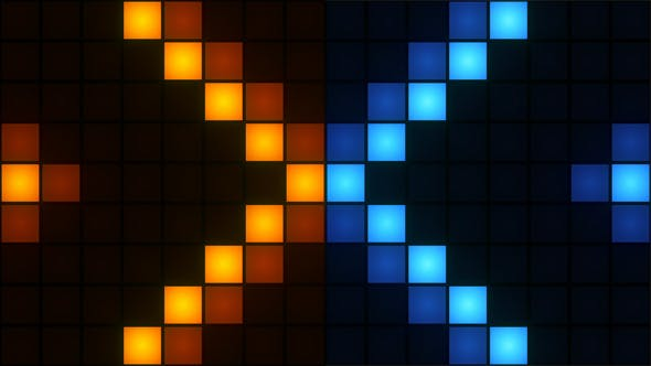 Cover Image for Wall Of Flashing Box Lights
