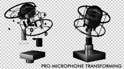 Pro Microphone Transforming