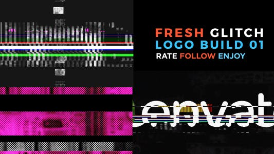 Thumbnail for Fresh Glitch Logo Build 2 Pack Volume 1