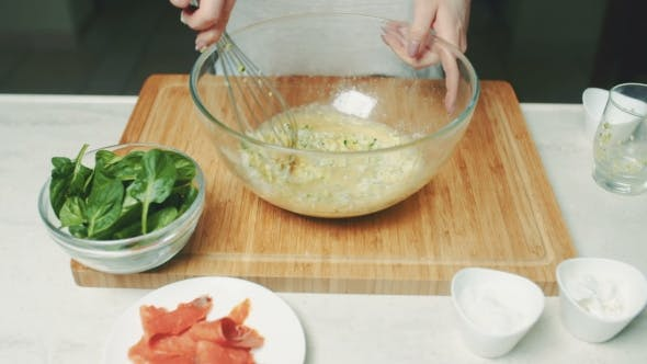 Thumbnail for Whisking Eggs in a Bowl