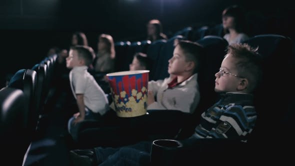 Thumbnail for The Children Are Watching Film in the Cinema