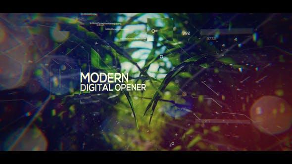 Thumbnail for Modern Digital Opener - Slideshow