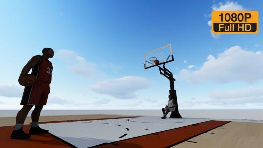 Thumbnail for Basketball Silhouette