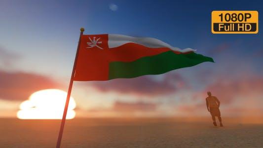 Thumbnail for Oman Flag and Walking Man