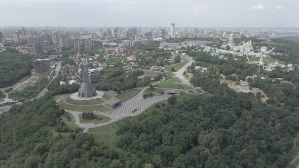 Thumbnail for Aerial View of Kyiv By Day. Ukraine