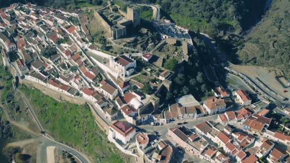 Thumbnail for Aerial View of the Fortified Town