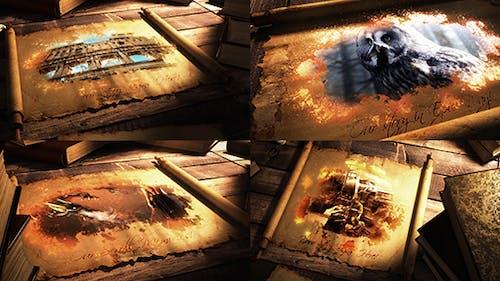 Epic Scroll Parchment
