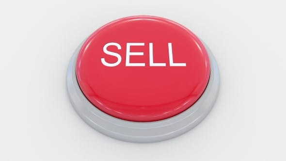 Thumbnail for Pushing Big Red Button with Sell Inscription