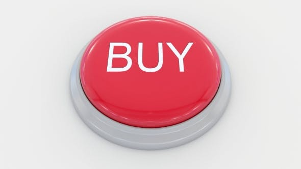 Pushing Big Red Button with Buy Inscription