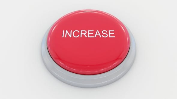 Thumbnail for Pushing Big Red Button with Increase Inscription