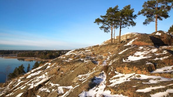 Thumbnail for Scandinavian Landscape Over the Baltic Sea