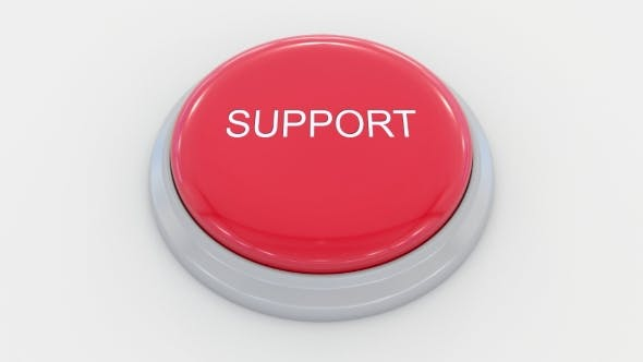 Thumbnail for Pushing Big Red Button with Support Inscription