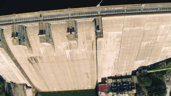 Thumbnail for Aerial View of Dam Near Pomarao