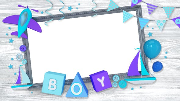 Thumbnail for Holiday Boys Frame