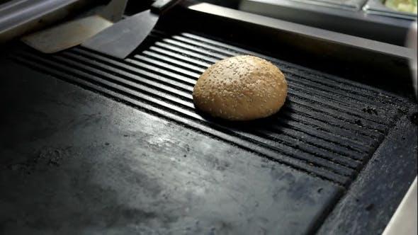 Burger Sesam Buns.