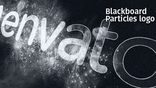 Thumbnail for Blackboard Particles Logo