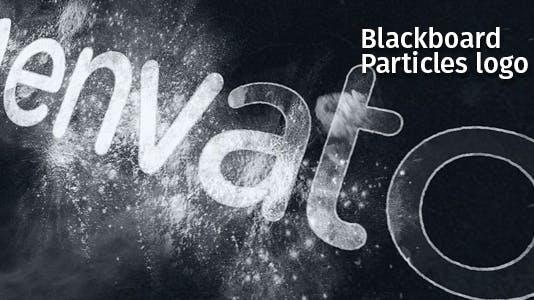 Blackboard Particles Logo