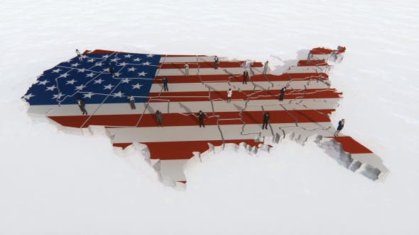 Thumbnail for USA Map Telecommunications - 3