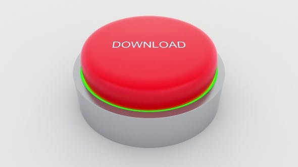 Thumbnail for Big Red Button with Download Inscription Being Pushed