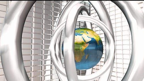 Globe Silver Rings