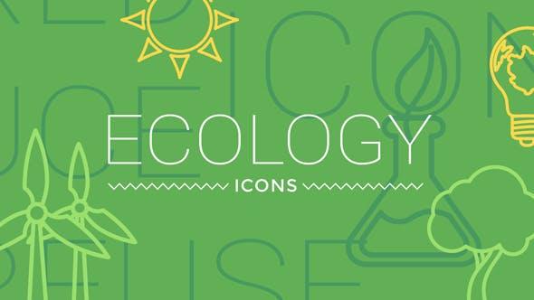 Thumbnail for IIcones ne du concept d'écologie