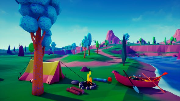 Thumbnail for Lowpoly Island