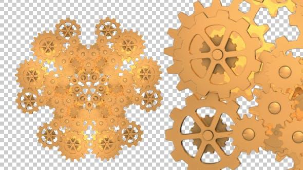 Thumbnail for Gold Gears Flower