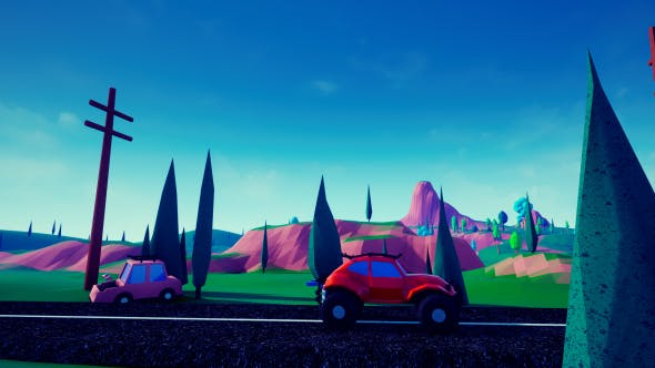 Thumbnail for Lowpoly Car
