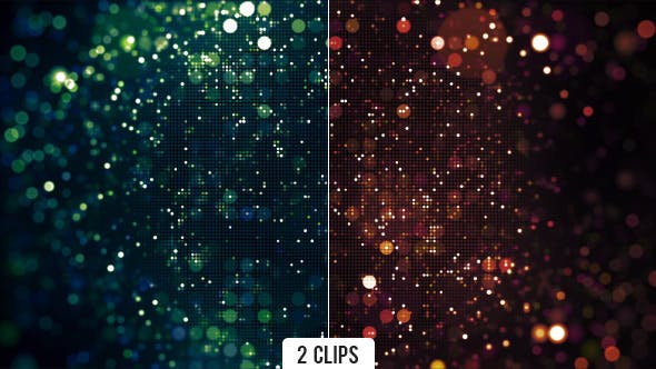 Thumbnail for Dynamic Dots Circles Grid and Bokeh Background