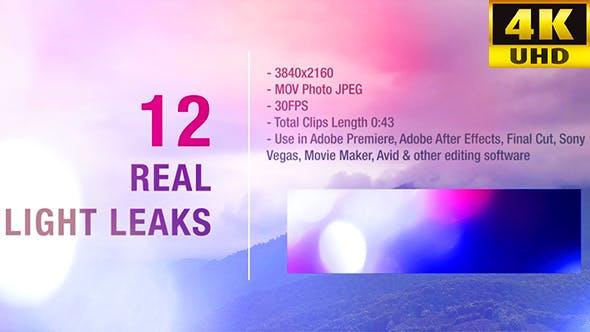 Thumbnail for Light Leaks 4K Pack