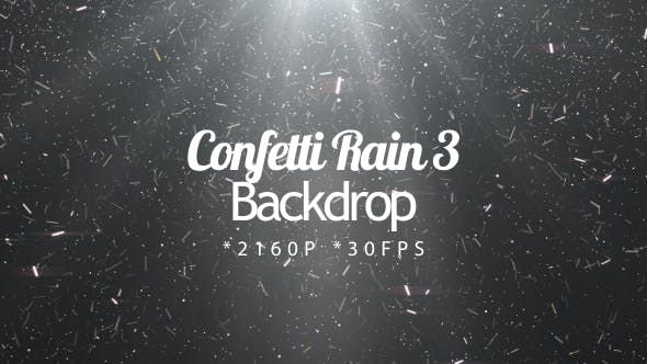 Confetti Rain 3