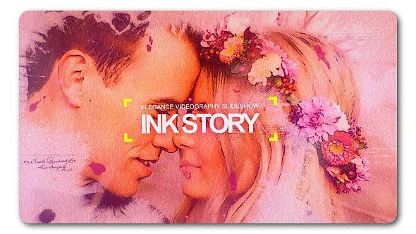 Cover Image for Clean Ink Watercolor Slideshow
