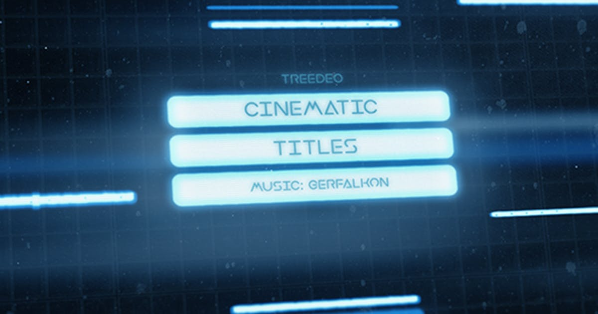 Download Cinematic Titles by Treedeo
