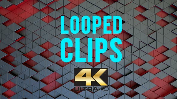 Thumbnail for Animated Triangle Background Looped