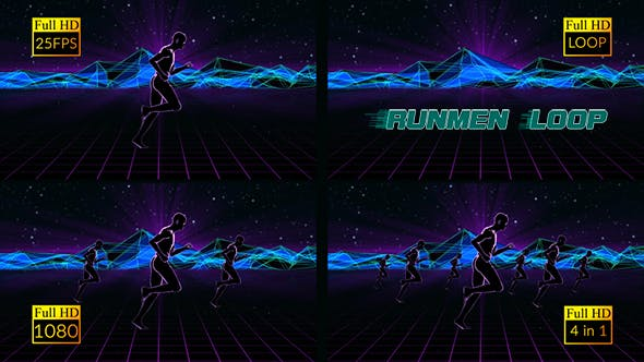 Thumbnail for RunMen Right Loop 4 in 1