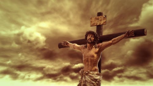 Crucifixion of Jesus Christ Time Lapse