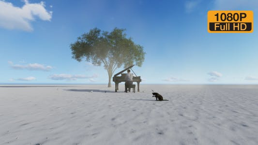 Thumbnail for Piano Playing on Nature