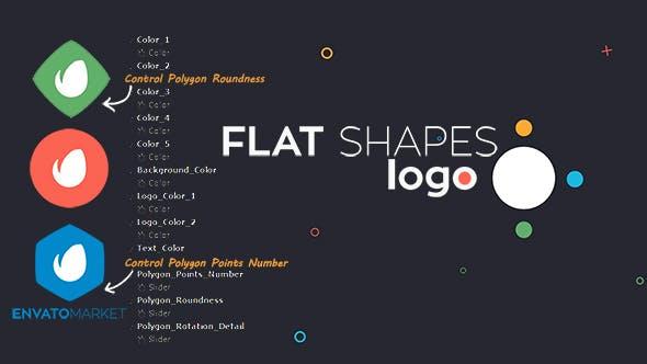 Thumbnail for Flat Shapes Logo