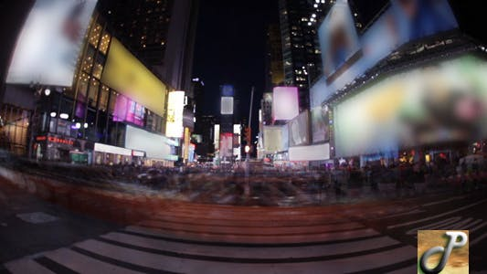 Thumbnail for Times Square Wide Time Lapse FUll HD