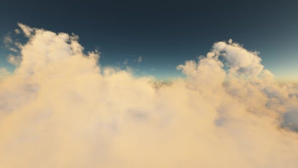 Aerial Above Clouds