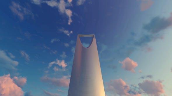 Thumbnail for Kingdom Centre - Riyadh, Saudi Arabia -Sunset