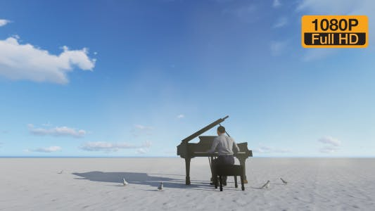 Cover Image for Piano and desert