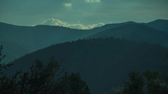 Thumbnail for The Picteresque View of the Sky and the Mountaints on a Sunny Day.