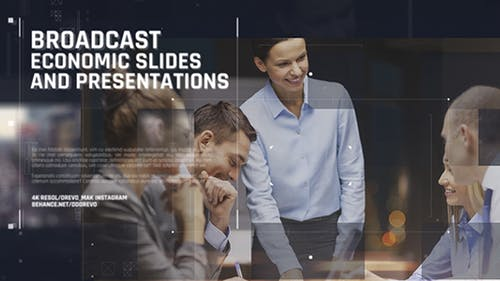 Broadcast Economic Slides/ Business Promo/ Event Promo/ Motivation/ Political News/ Corp Conference