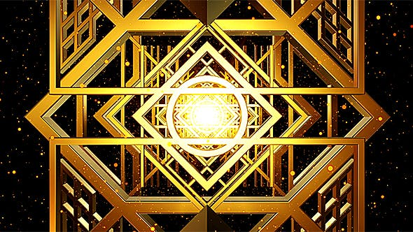 Thumbnail for Art Deco Loop Background #2