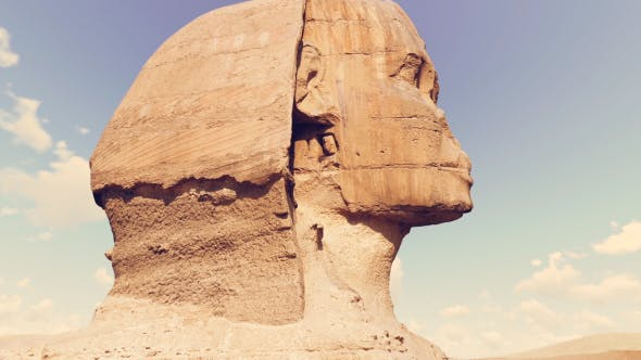 Thumbnail for Timelapse Of The Sphinx In Giza