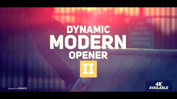 Thumbnail for Dynamic Modern Opener II