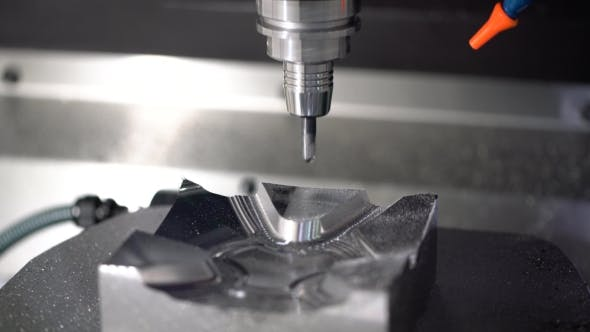 Cover Image for Metalworking CNC Milling Machine.